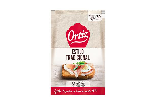Ortiz Pan Tostado Tradicional