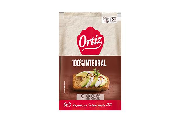 Ortiz Panecillos Tostados Integral