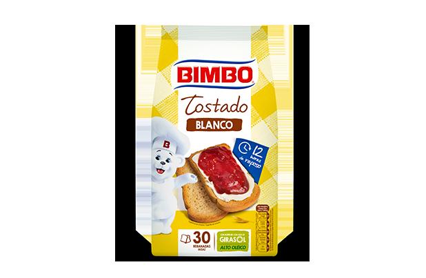Bimbo® Pan Tostado Blanco