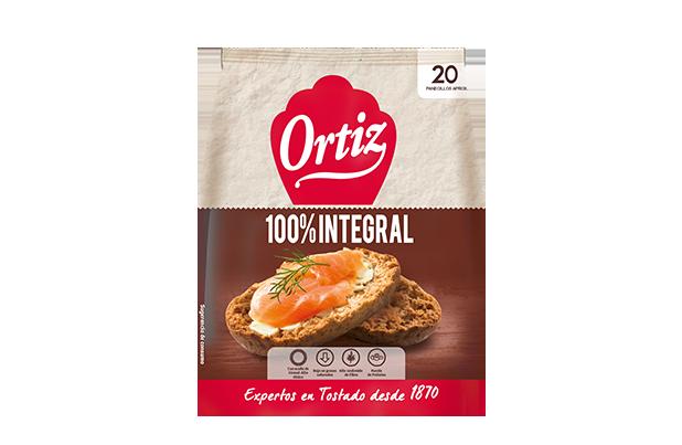 Ortiz Pan Tostado Integral