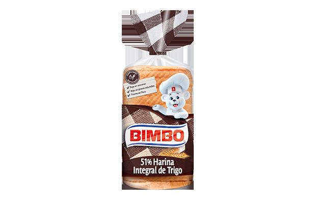Bimbo 51% Harina Integral de Trigo