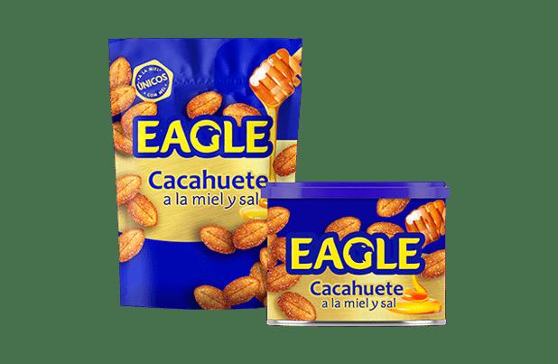 Eagle Dorados, cacahuetes a la miel y sal