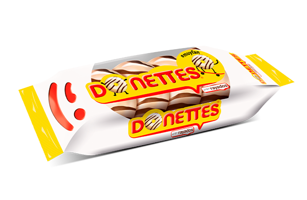 Donettes Rayados